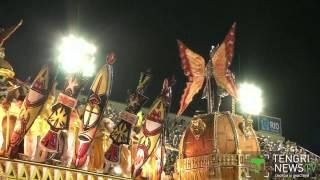 В Бразилии проходит ежегодный карнавал(В Рио-де-Жанейро проходит ежегодный традиционный карнавал. В течении пяти дней на улицах города выступают..., 2015-02-17T07:11:05.000Z)