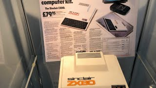 Personal computers at The National Museum of Computing (ZX80,81,Spectrum, BBC Micro, Amiga etc)