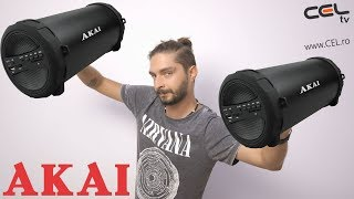 How to connect 2 Bluetooth speakers to one mobile phone? We test Akai ABTS-11B
