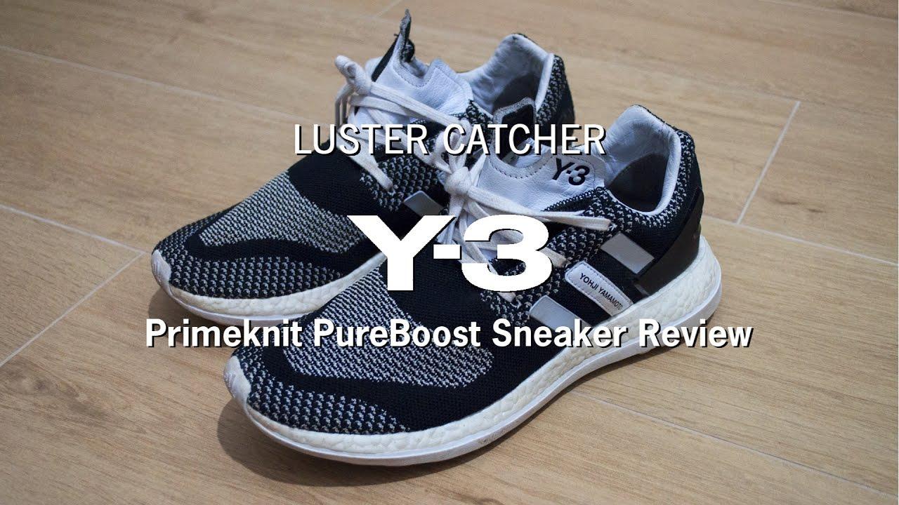 5d578abfd1b8a Y-3 Primeknit Pureboost Sneakers