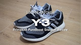 Y-3 Primeknit Pureboost Sneakers | Review & Sizing |