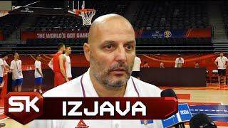 Aleksandar Đorđević pred meč Srbija - Italija na Mundobasketu   SPORT KLUB KOŠARKA