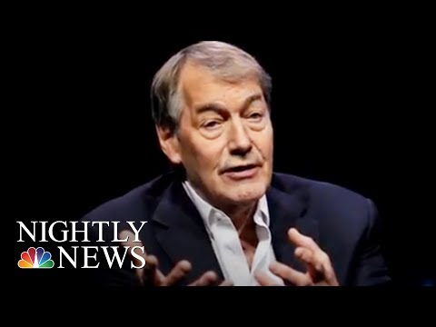 Charlie Rose Accused Of Sexual Misconduct By 8 Women | NBC Nightly News