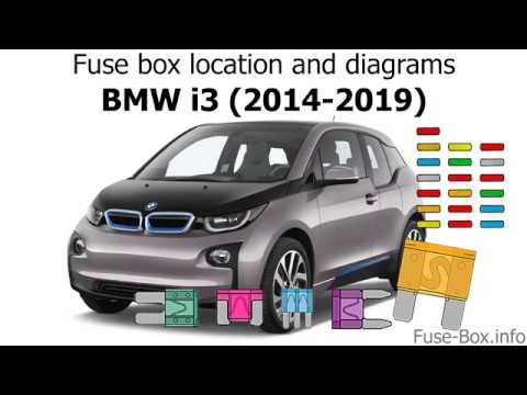 fuse box location and diagrams: bmw i3 (2014-2019) - youtube  youtube