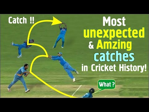 Top 10 Best Catches in Cricket | Best catches in Cricket History