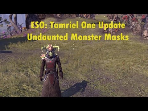 ESO: Tamriel Unlimited New Undaunted Monster Mask Sets