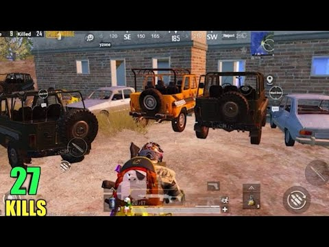 STEALING Every Car In PUBG MOBILE