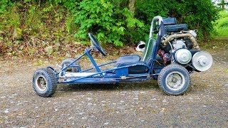 Download We put a Briggs V-twin on a kids Go kart Mp3 and Videos