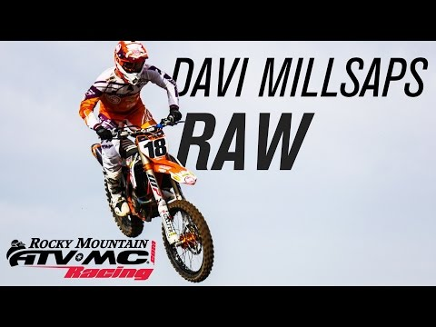 Davi Millsaps #18 Raw | Team Rocky Mountain ATV/MC-KTM-WPS