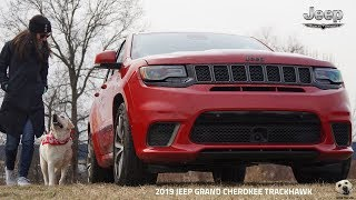 2019 Jeep Grand Cherokee Trackhawk: Andie the Lab Review!