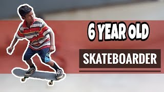 A DAY WITH INDIA'S 6 YEAR OLD SKATEBOARDER BOY ( VLOG ) | Freedom lifestyle vlog