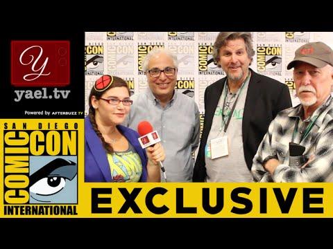 Jim Kouf, David Greenwalt, & Norberto Barba - Grimm Interview - San Diego ComicCon 2015