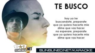Karaoke - Te Busco - Nicky Jam Ft Cosculluela