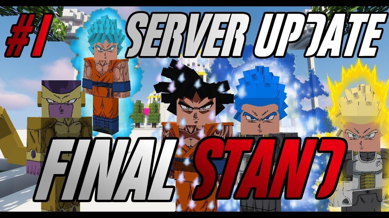 Dragon Block C Final Stand (DBZ Minecraft Server) SUPER IMPORTANT UPDATE  *SERVER FOOTAGE*