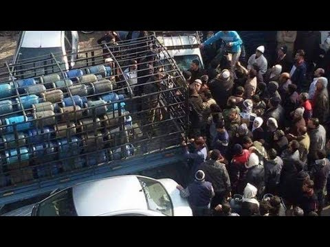 فنانون سوريون جدد يطلقون ثورة الغاز والمازوت في مناطق الأسد - هنا سوريا  - 20:53-2019 / 2 / 14