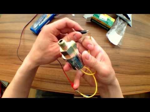 Электромагнитный воздушный клапан на 12v. Good Master