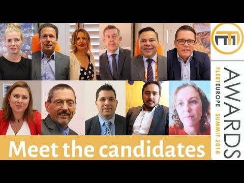 2018 Fleet Europe Awards: meet the candidates