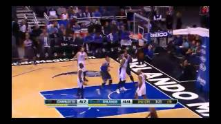 NBA CIRCLE - Charlotte Bobcats Vs Orlando Magic Highlights 17 Jan. 2014 www.nbacircle.com