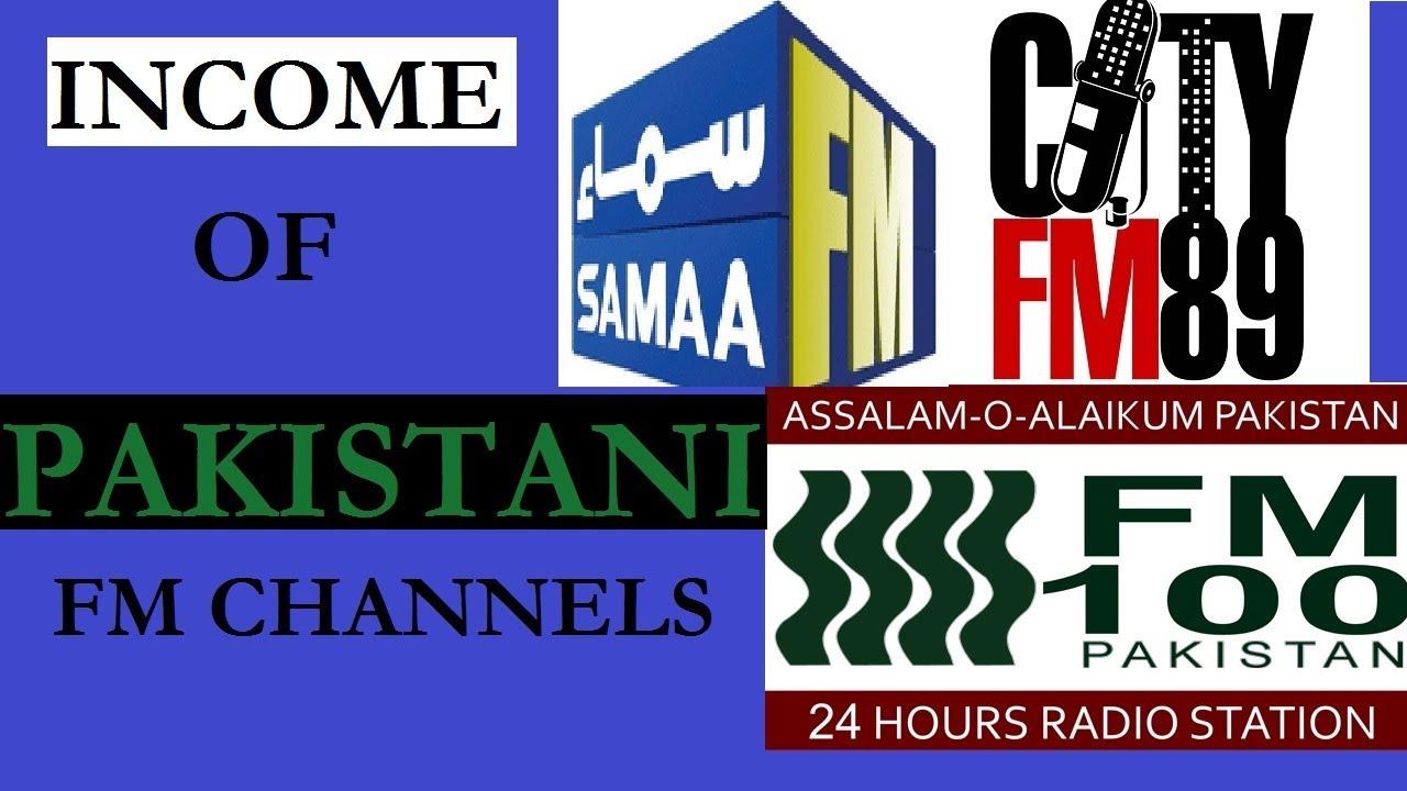 Pakistan FM Radio Channels Earning & Income - Leading Pakistan FM Radio  Stations