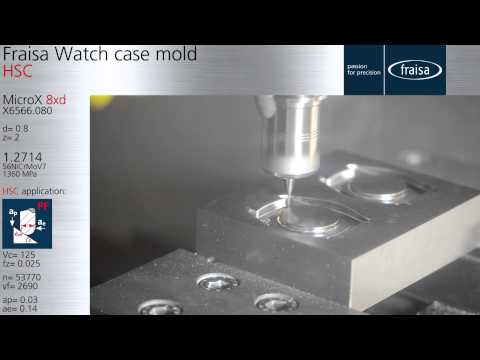 Fraisa Watch case mold