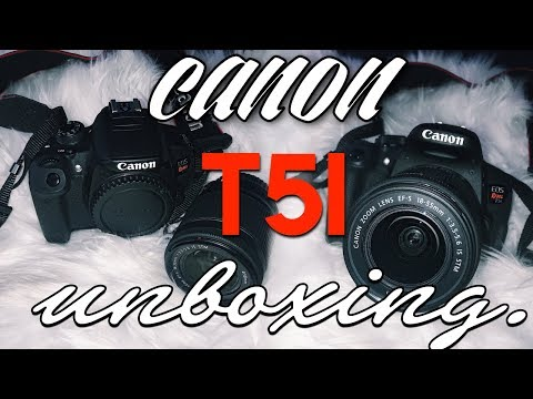 UNBOXING CANON REBEL T5I (REFURBISHED) & VIDEO TEST. // HelloKeyy