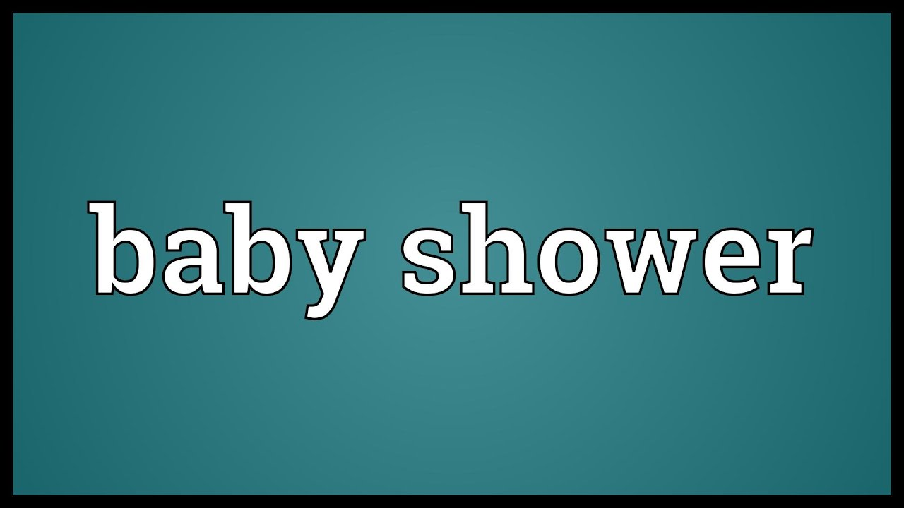 Baby shower meaning youtube baby shower meaning stopboris Gallery