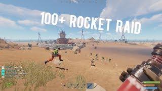 100+ Rocket Online Raid | Rust