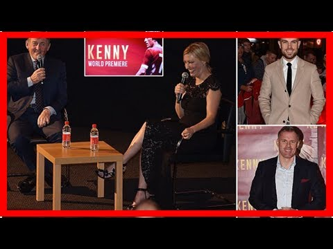 Liverpool stars past and present attend kenny dalglish film premiere as the kop legend sees incredi