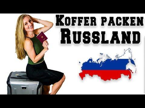 Mein KOFFER für RUSSLAND - Sankt Petersburg   Nessi's World