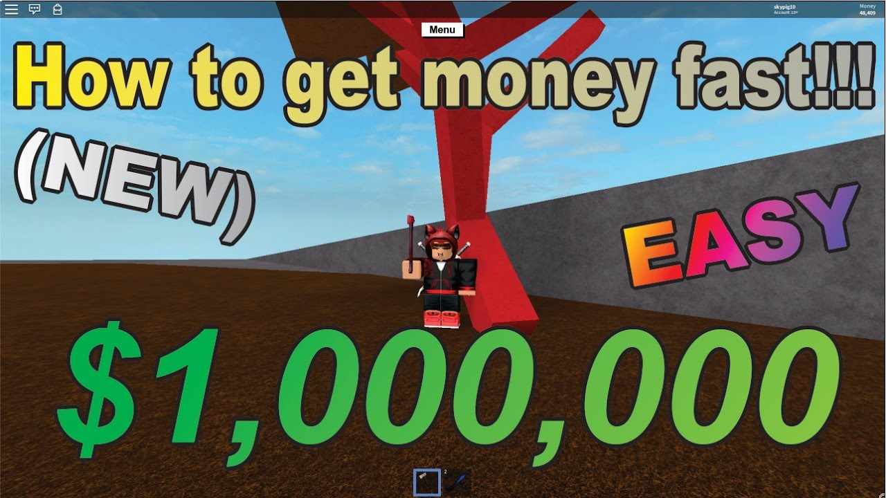 How To Get Money fast!!! $1,000,000 (EASY) - lumber tycoon ...