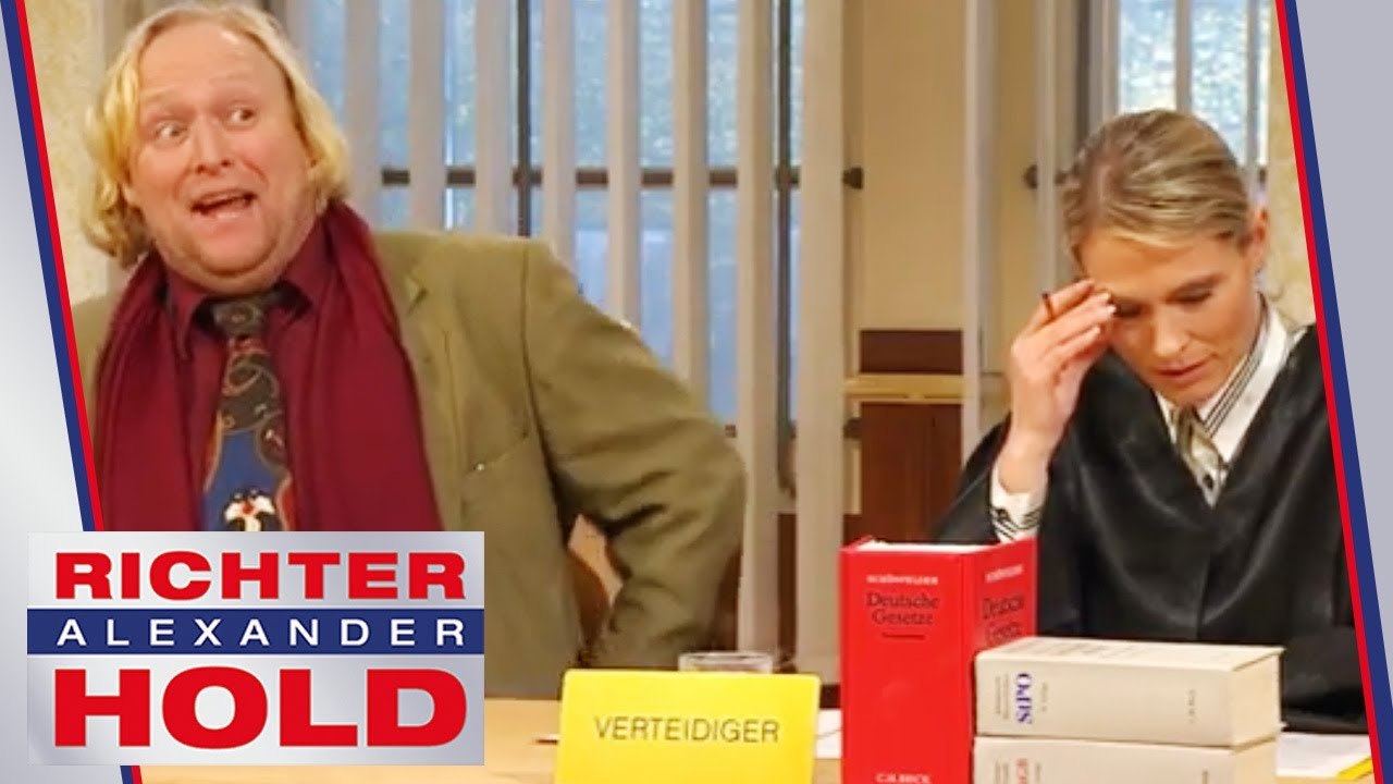 Dreist vor Gericht! Angeklagter geht allen auf die Nerven! | 1/2 | Richter Alexander Hold | SAT.1