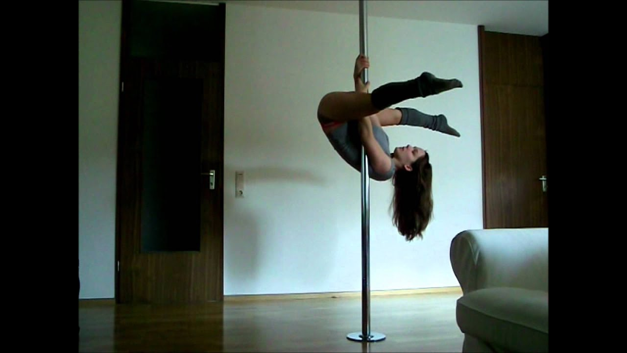 pole dance inversion