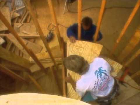 How to Build a Winding Staircase - Bob Vila