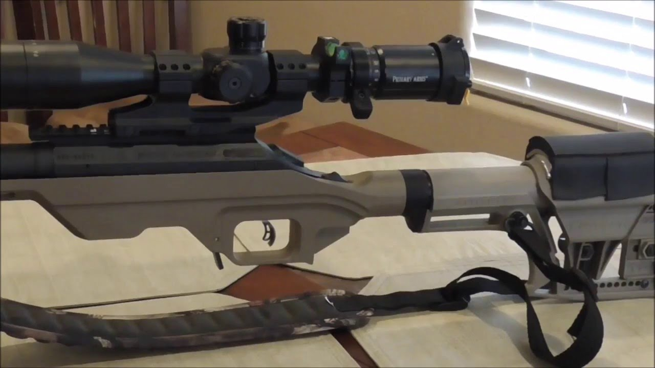 Mdt Lss Chassis For Ruger American Rifle Youtube