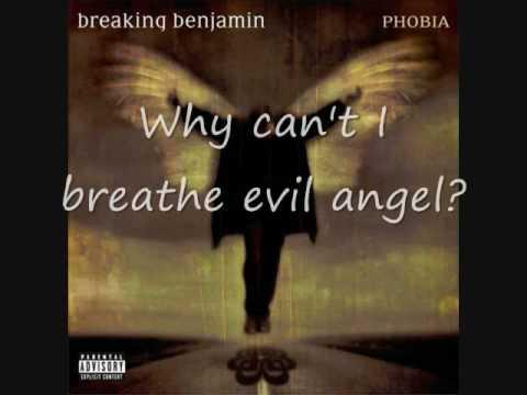 Breaking Benjamin- Evil Angel (with lyrics)