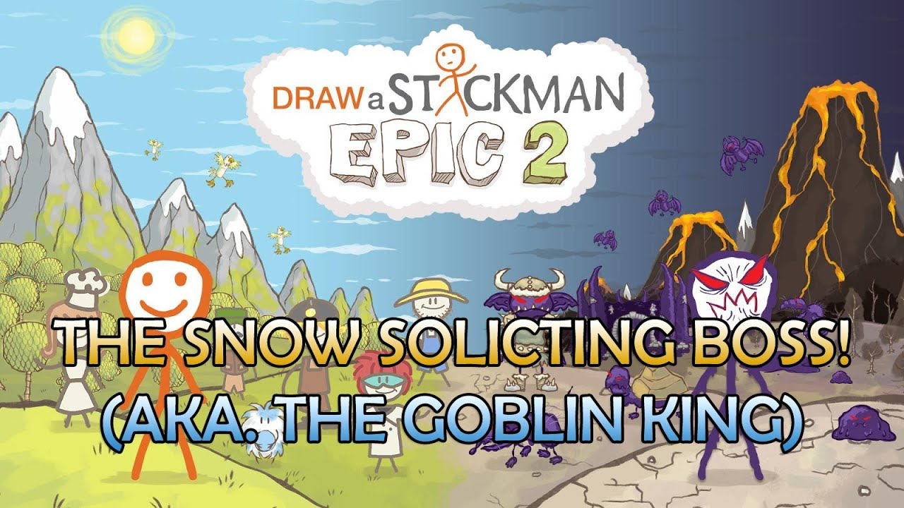 draw a stickman epic 2 boss fight the goblin king chapter 8 part 1 youtube. Black Bedroom Furniture Sets. Home Design Ideas