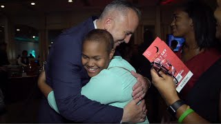 Kyle Flood Honored by the Embrace Kids Foundation