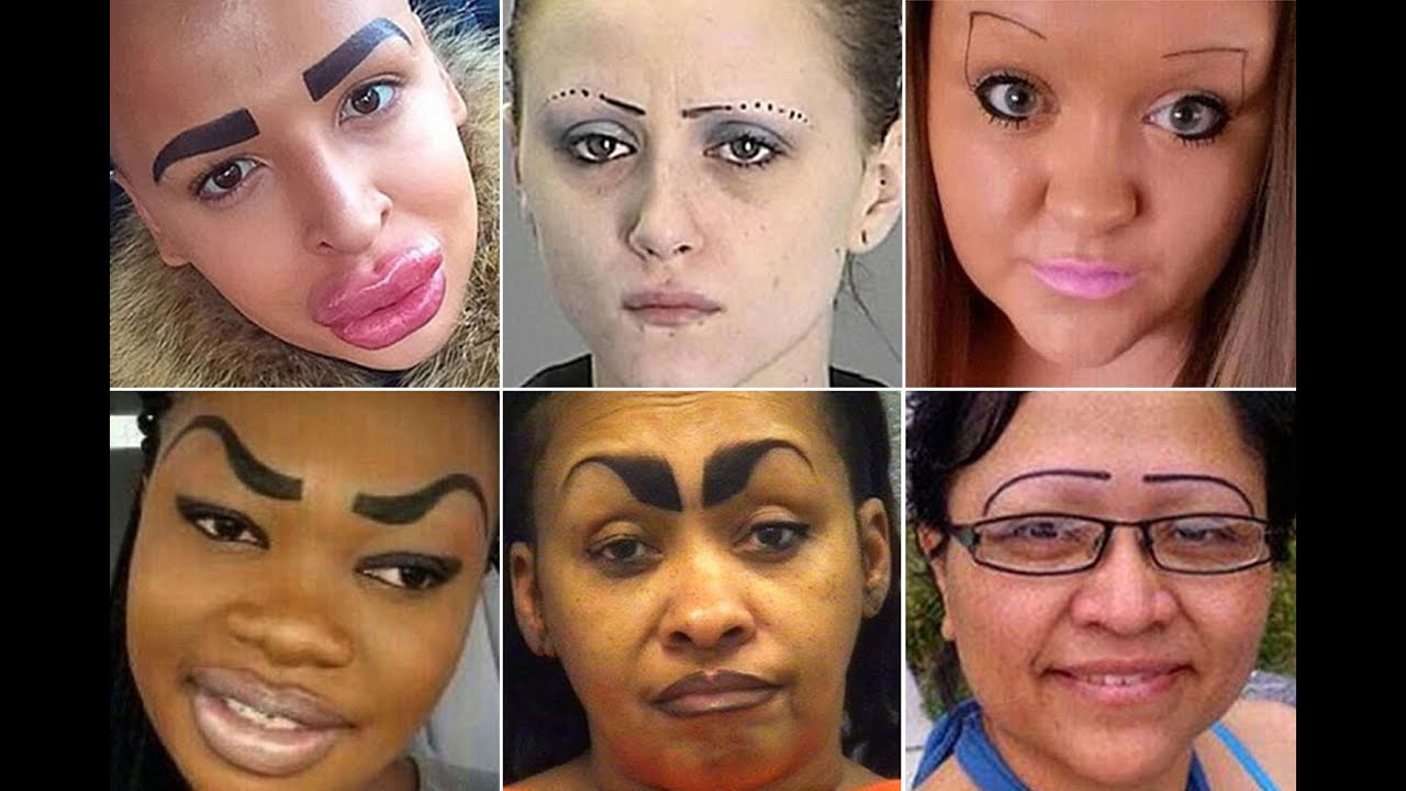 These Hilarious Eyebrow Fails Will Make You Cringe The Is - 28 hilarious eyebrow fails