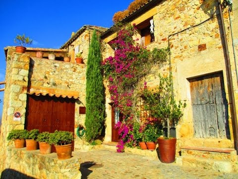 Peratallada, Palau Sator, Pals: medieval villages in Catalonia, Spain