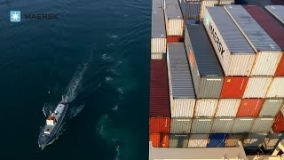 Maersk Line - On Board Edith Maersk vessel video
