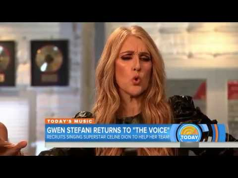Céline Dion w/Gwen Stefani on The Today Show, January 27th, 2017 HD 720