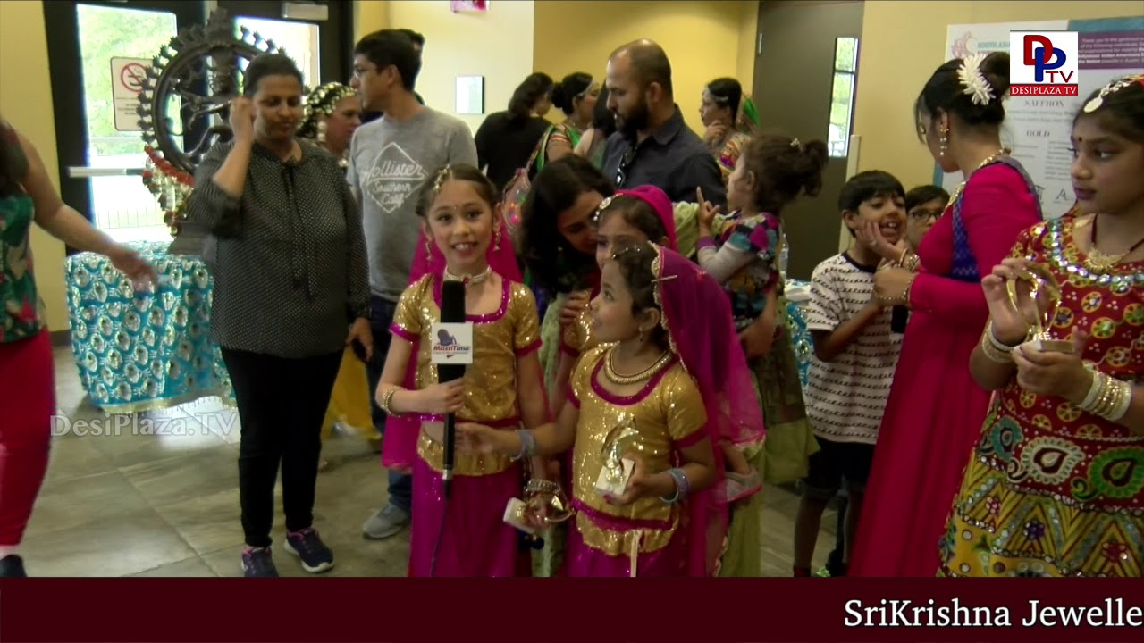 Cute kids speaks bubbly to DesiplazaTV at Navrus 'Beyond Bollywood : Explore India through Dancing'