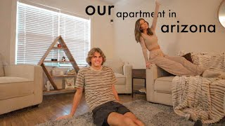 our fully furnished apartment tour!!