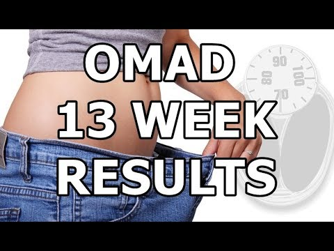 omad-one-meal-a-day-diet-for-3-months-(intermittent-fasting)-|-week-#13-results