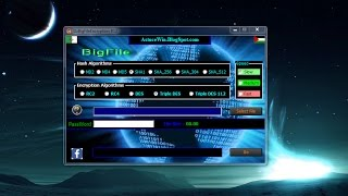 Fast and Professional Encryption DzBigFileEncryptionB12 تشفير سريع ومحترف للملفات