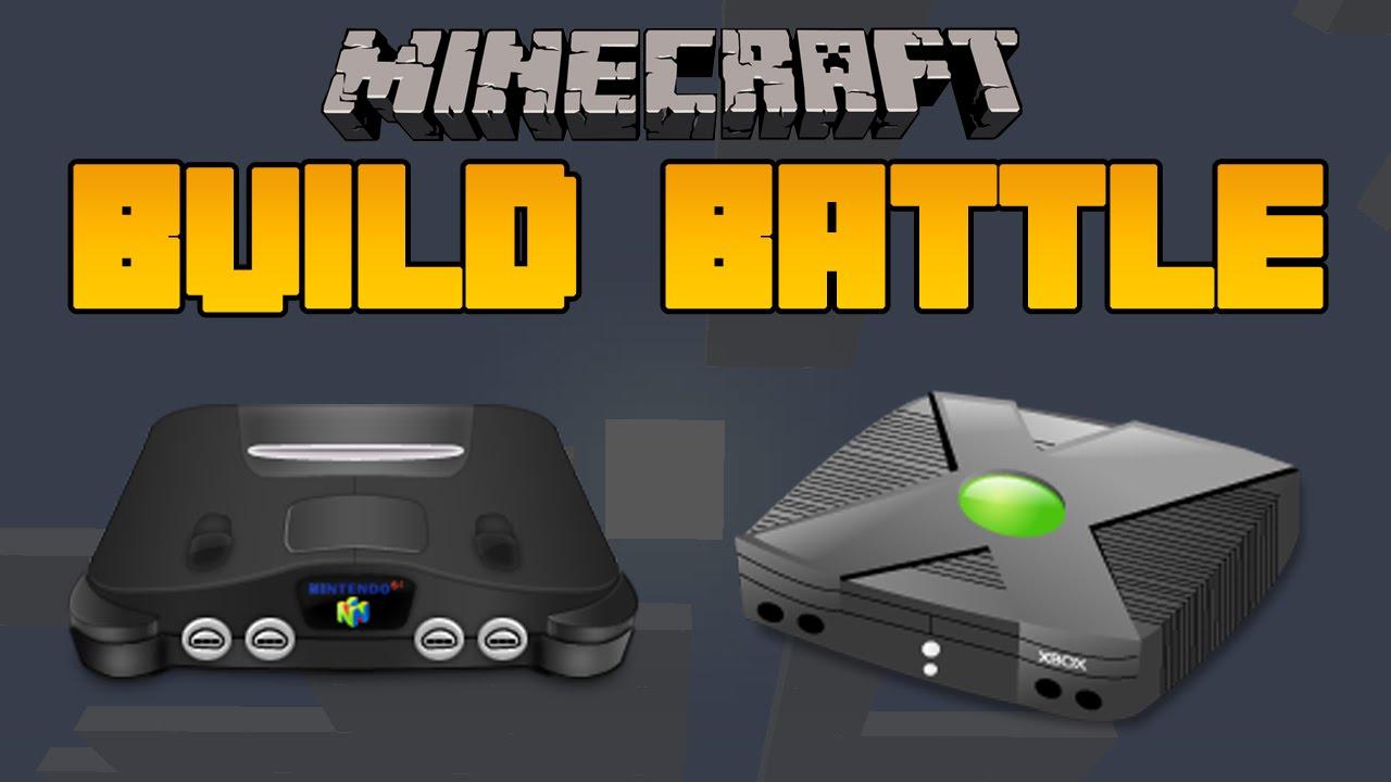 Minecraft Console Build Battle