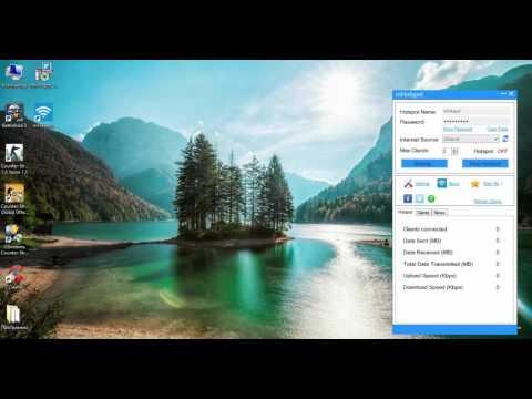 Как раздать Wi-Fi с помошью ноутбука и MHotspot