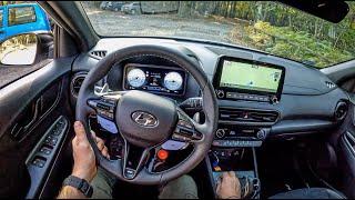2022 Hyundai Kona N Performance [2.0 T-GDI 280HP] |0-100| POV Test Drive #944 Joe Black