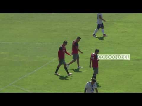 Colo Colo goleó en amistoso a San Antonio Unido
