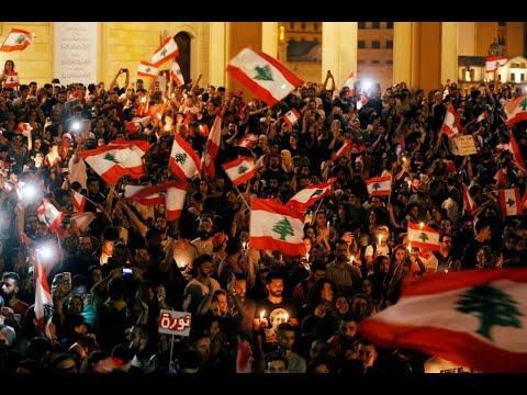 المحتجون في لبنان يقررون المبيت في الشوارع  - 02:54-2019 / 10 / 20